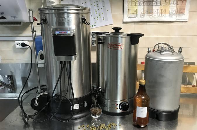 Craft brewing master class