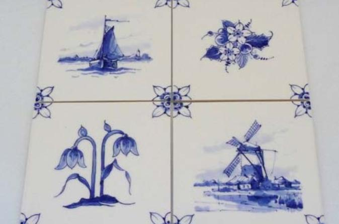 Private tour delft pottery factory tour and painting workshop in delft 158815