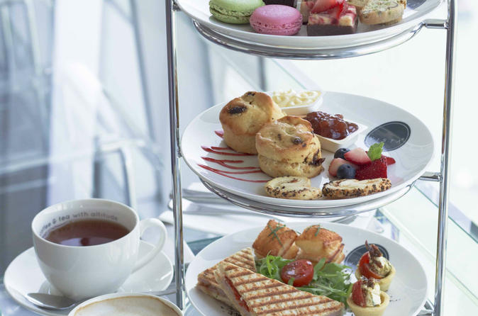 English high tea with sky100 hong kong observation deck admission in hong kong 358560