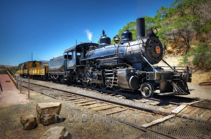 Wild west tour from lake tahoe with train ride in lake tahoe 157240