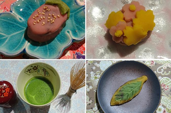 Amazing Japanese Sweets Making Class