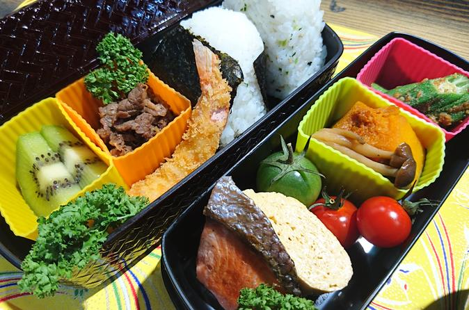 Well-balanced Bento (lunch box) Cooking Class