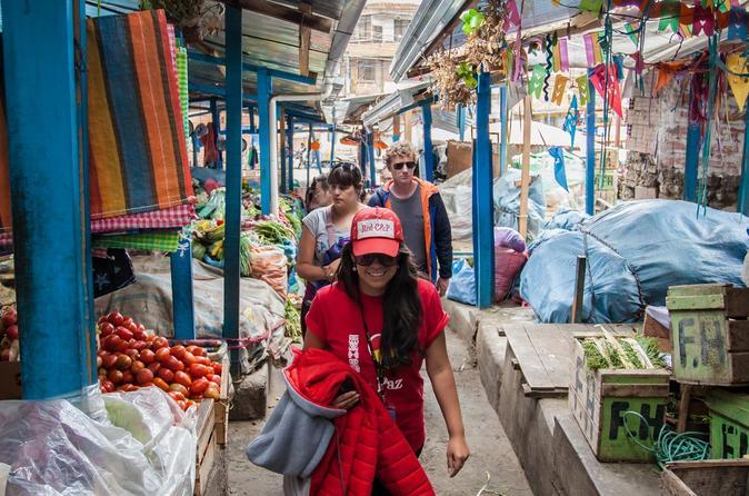 Excursão a pé pela cidade de La Paz, incluindo ruas históricas