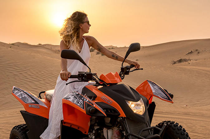 Desert Safari With Quad Bike, Dubai