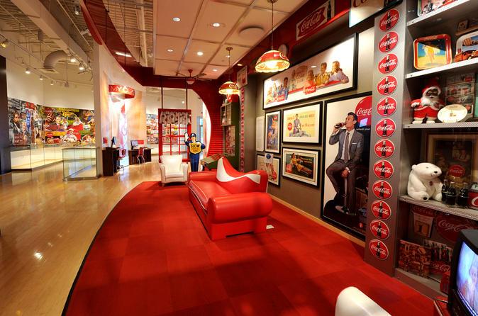Entrada para o Mundo da Coca-Cola em Atlanta
