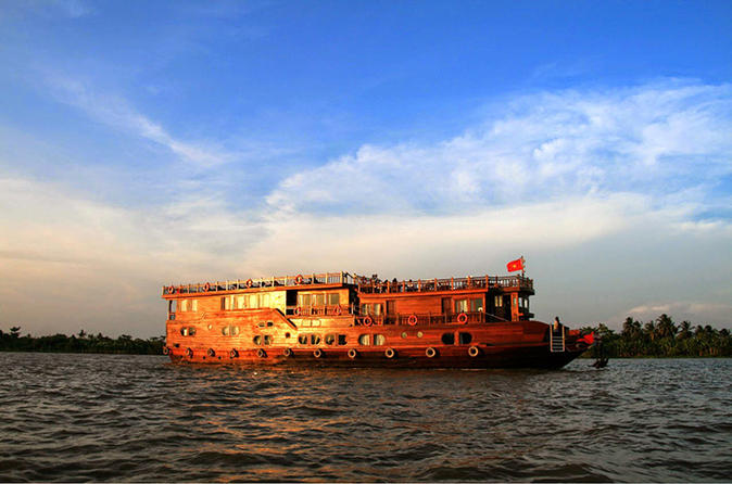 2-Day Cruise on the Mekong River from Ho Chi Minh City Vietnam, Asia