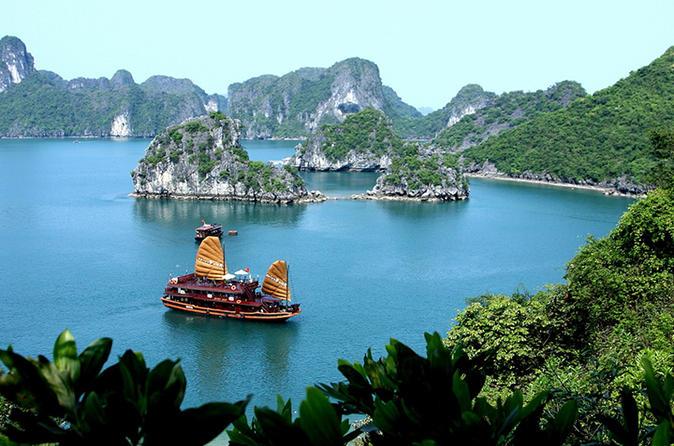 2-Day Ha Long Bay and Tuan Chau Island Tour from Hanoi