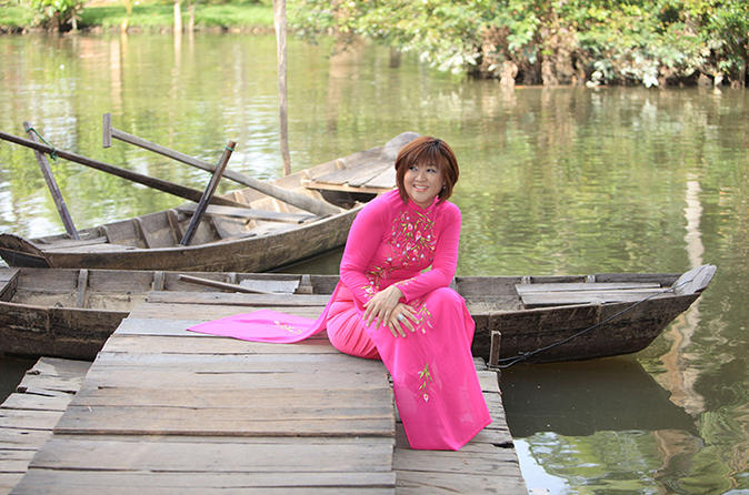 Half-Day Ao Dai Photography Tour from Ho Chi Minh City in Vietnam Asia