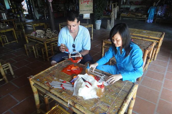 Half Day Lantern Making And Art Craft Lesson In Hoi An City