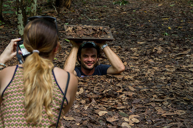 Ho Chi Minh City Historical Tour Including Cu Chi Tunnels