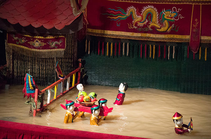 Water Puppet Show And Spa Relaxation Including Dinner In Ho Chi Minh City