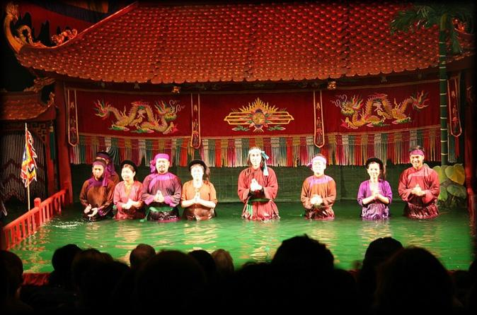 Water puppet show with buffet dinner from hanoi in hanoi 158889