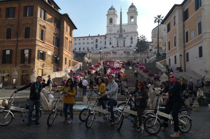 ROME TOUR BY ELECTRIC BIKE WITH BEST COFFEE & GELATO