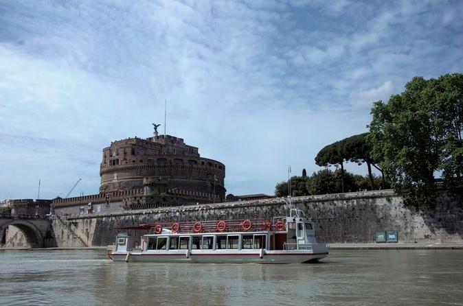 Cruzeiro panorâmico em Roma e excursão de ônibus opcional