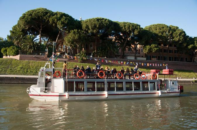 Cruzeiro pelo Rio Tibre em Roma com Aperitivo