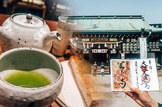 Goshuincho Workshop, Sencha Tea Making & Shrine Tour - Collect Calligraphy At Temples & Shrines! - Osaka