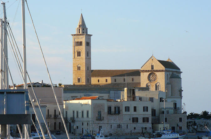 Shore excursion from bari trani sightseeing and traditional olive oil in bari 209592