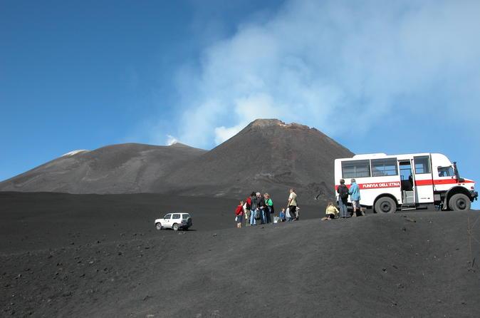 Mount Etna Sunset Tour from Taormina