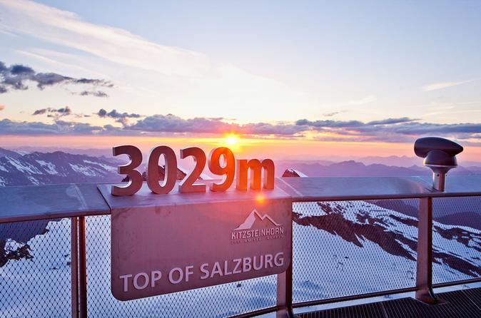 Kitzsteinhorn Ticket to the Top of Salzburg