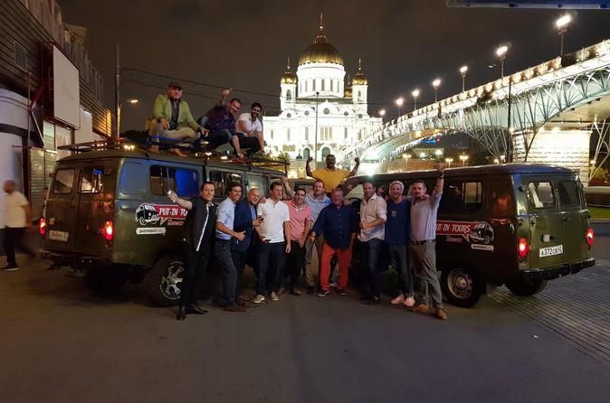 Pub-crawl Moscow onboard a classic Soviet van!