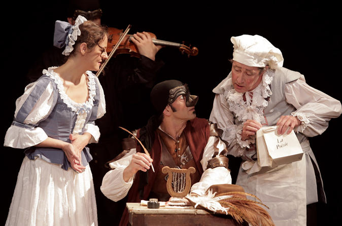 Cyrano de Bergerac: Classic French Play in Paris with English Subtitles