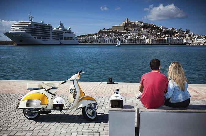 Ibiza island tour by vintage vespa in ibiza 159083