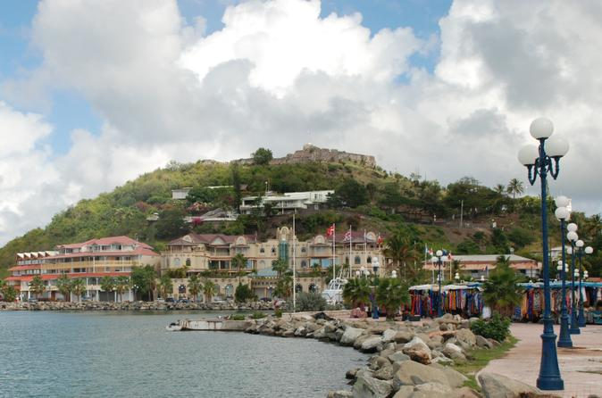 The St Maarten Experience: Marigot and Party Cruise to Simpson Bay
