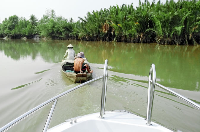 Half-Day Mekong Delta by Speedboat and Leisure Biking