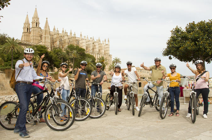 Palma de mallorca bike tour with optional tapas in mallorca 159482