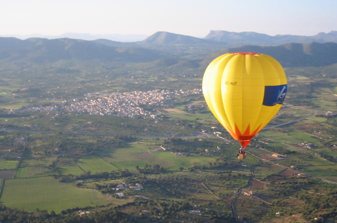 Mallorca hot air balloon ride in mallorca 159824