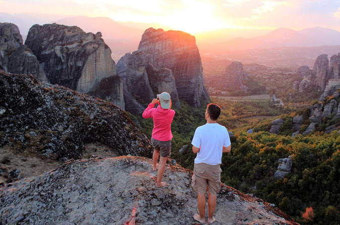 Sunset meteora tour from kalambaka including badovas hermitages in kalambaka 159457