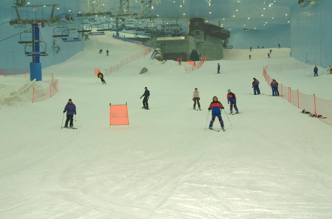 Ski�n bij Ski Dubai