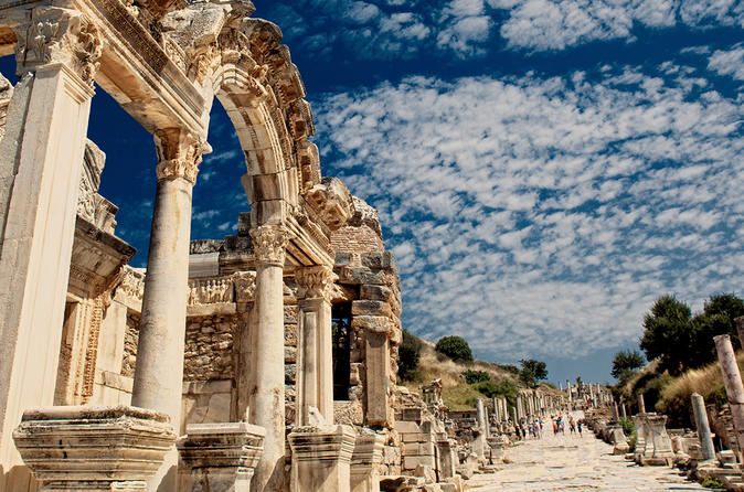 Ancient City of Ephesus Admission Ticket with Hotel Delivery in Istanbul