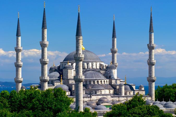 Excursão de dia inteiro: Excursão Istambul clássico incluindo Mesquita Azul, Hipódromo, Santa Sofia e Palácio de Topkapi