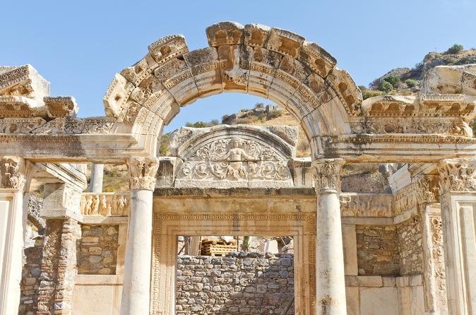 Excursão terrestre particular de meio dia em Éfeso e Éfeso e casas com terraço