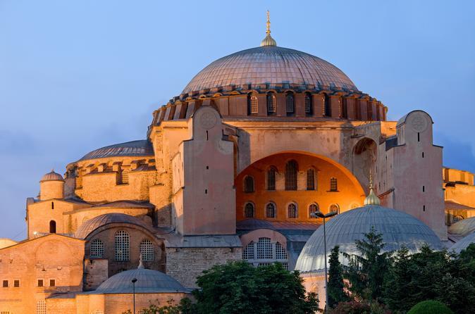 Manhã em Istambul: excursão de meio dia pela Mesquita Azul, basílica de Santa Sofia, Hipódromo e Grande Bazar