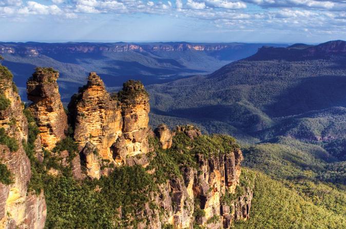 Excursão de um dia à Blue Mountains incluindo Three Sisters, Scenic World e Wildlife Park
