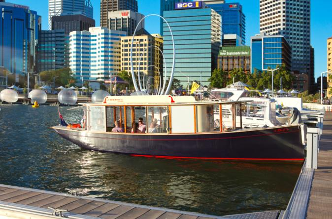 Cruise On The Swan River In A Solar Electric Ferry