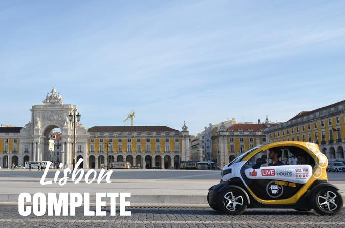 Lisbon Complete - Self Drive with GPS Audio Guide - Hotel Delivery Included