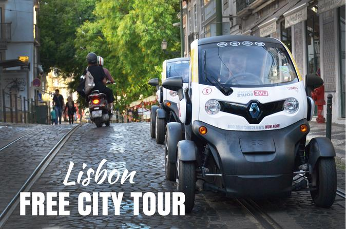 Lisbon Free City Tour -Self Drive with GPS Audio Guide - Hotel Delivery Included