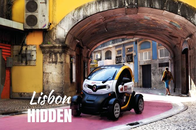 Lisbon Hidden - Self Drive with GPS Audio Guide - Hotel Delivery Included