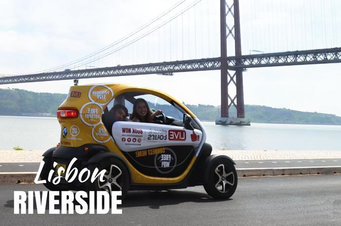 Lisbon Riverside - Self Drive with GPS Audio Guide - Hotel Delivery Included