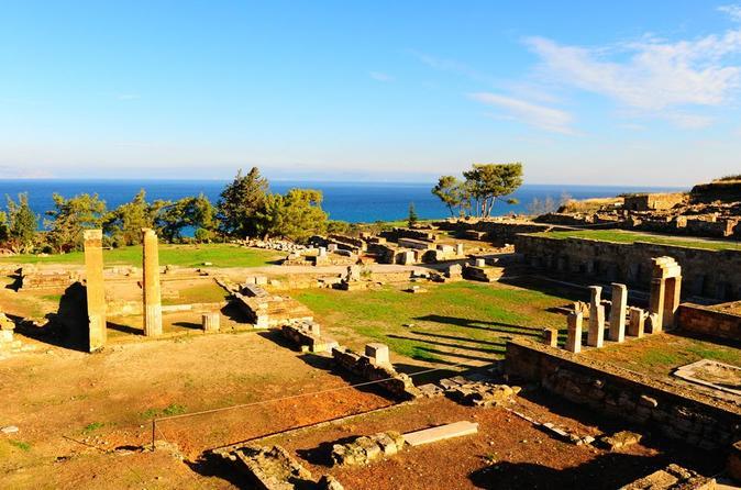 Hike In The Mountain Profitis Ilias Ending At Ancient Kamiros City - Rhodes