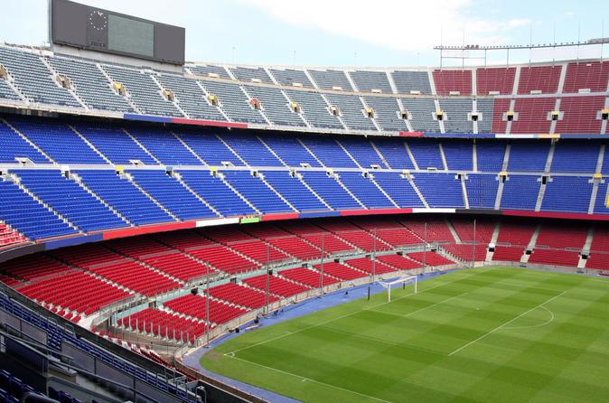 FC Barcelona Football Match at Camp Nou