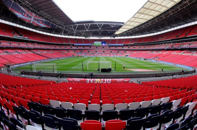 Tottenham Hotspur Football Match at Wembley Stadium