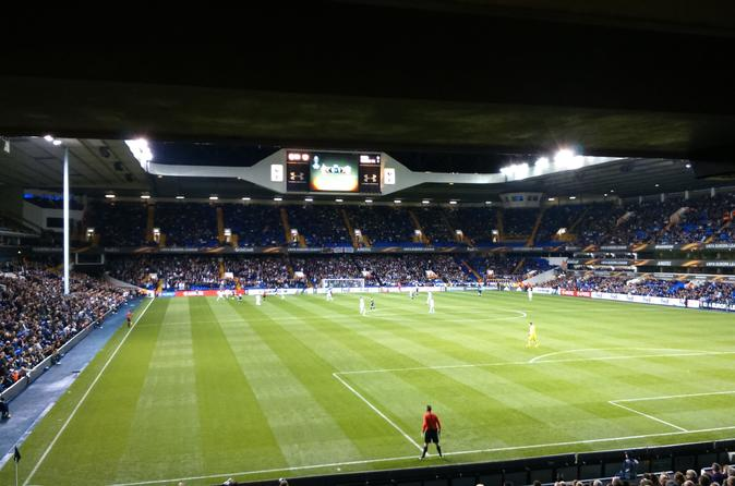 Tottenham Hotspur Football Match at White Hart Lane Stadium