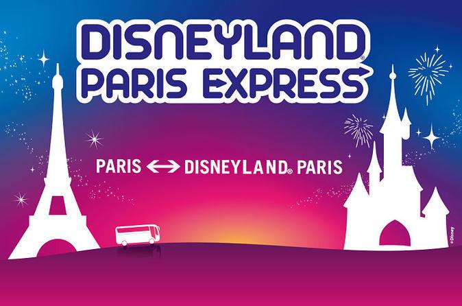 Disneyland Paris Express Shuttle with Entrance Tickets
