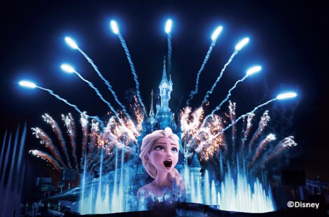 Ingresso normal para um parque da Disneyland Paris com transporte ferroviário de ida e volta saindo de Paris