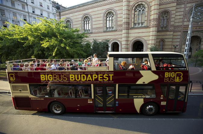 Big bus budapest hop on hop off tour in budapest 221271