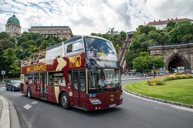Excursão em ônibus panorâmico Big Bus por Budapeste